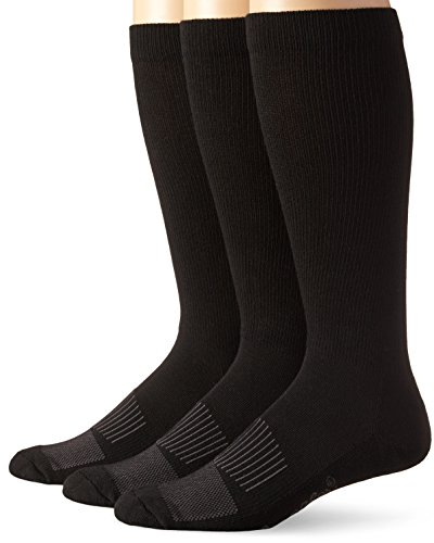 Wrangler Men's Western Boot Socks (Pack of 3),Black,Sock Size:Large(10-13)/Shoe Size: 9-13