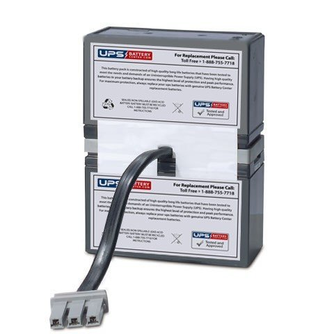 BT1000MC - New battery pack for APC Back UPS HT Media Center 1000VA BT1000MC - Compatible Replacement by UPSBatteryCenter