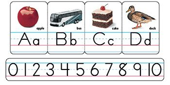 Trend Educational Products Bb Set Manuscript Photo Zaner-