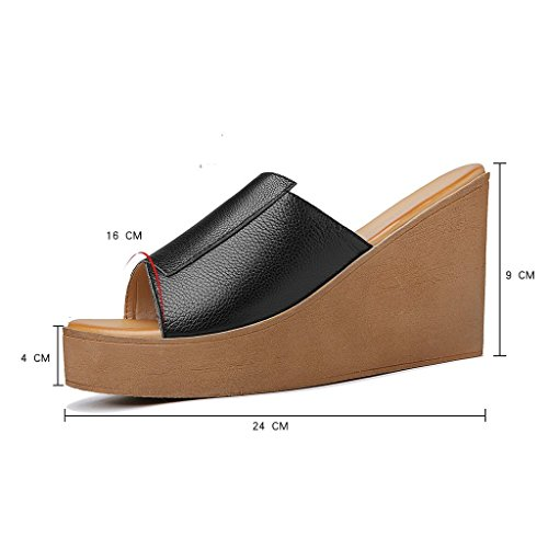 PU rehaussement Plate Confort Mode us5 Chaussures Chaussures Nouvelle Femme Outfit 39 Gamme Black Haut XIE de 5 uk3 8 35 Chaussures Forme Sauvages Simple de de 5 la Occasionnel 6 TIANYINI Bq7UwxzW