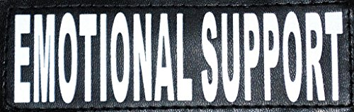 Reflective EMOTIONAL SUPPORT Patches harnesses