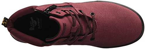 Dr. Martens Women's Maegley Fashion Boot, Cherry Red Woven Textile+Fine Canvas, 5 Medium UK (7 US) by Dr. Martens (Image #8)