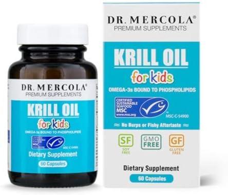 Dr. Mercola, Krill Oil for Kids