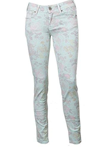 Cimarron Damen Jeans Jackie Cropped Flower Misty Jade Misty Jade ...