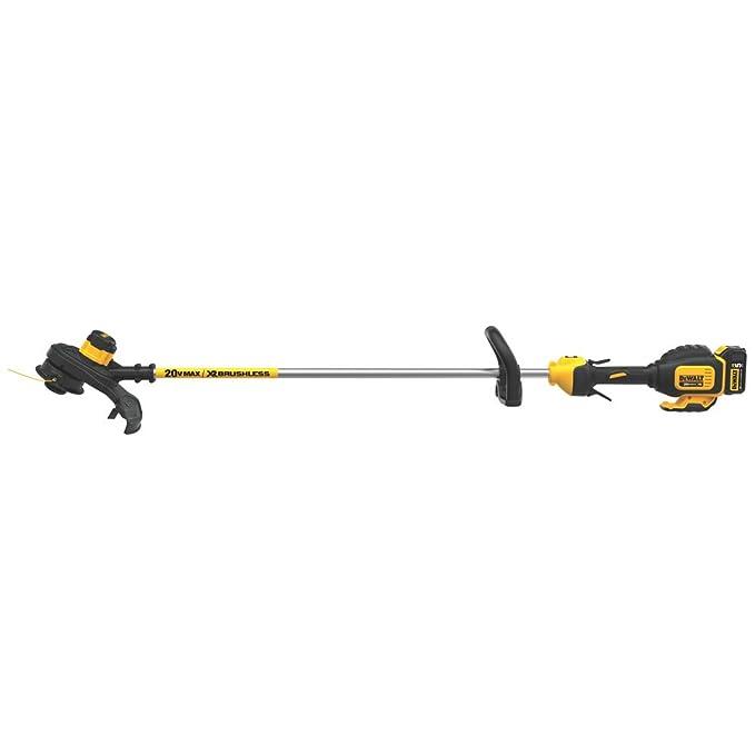 Amazon.com: DeWalt DCST920P1 - Recortadora de cuerdas sin ...
