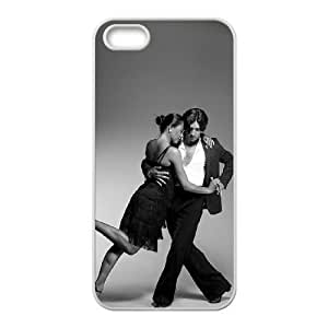 Ballroom Dancer Image On The iPhone 5 5s White Cell Phone Case AMW896071