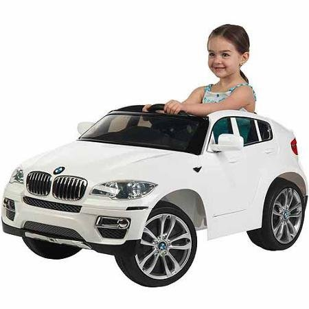 Huffy-BMW-X6-6-Volt-Battery-Powered-Ride-On-White