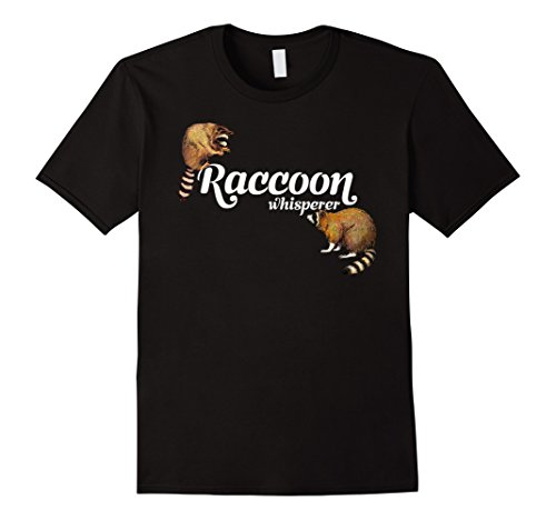 (Raccoon Whisperer T-shirt Cute Raccoon Tee)