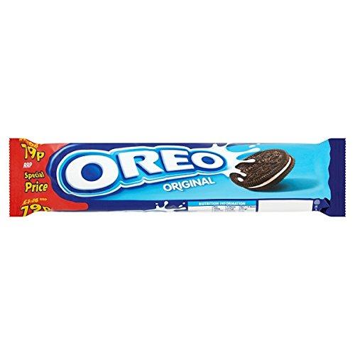 Oreo Original Sandwich Biscuits 79p 154g (Pack of 16 x 154g)
