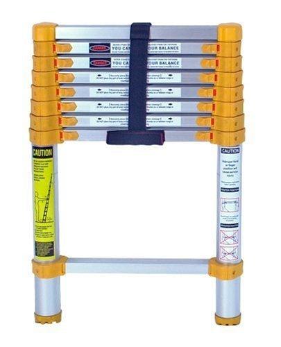 Xtend & Climb 750P Aluminum Telescoping Ladder Type II Home Series, 8.5-Foot by Xtend & Climb