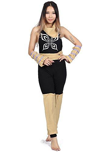 "De-Cos Bleach Cosplay Costume ""Demon cat†Shihouin Yoruichi 1st Ver Outfit Set"