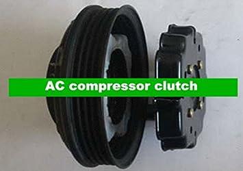 GOWE AC para 7seu16 C el embrague del compresor AC Embrague del Compresor para Audi A4 con PV4 Polea 4b0260805g 4b0260805 K 4b0260805 m: Amazon.es: ...
