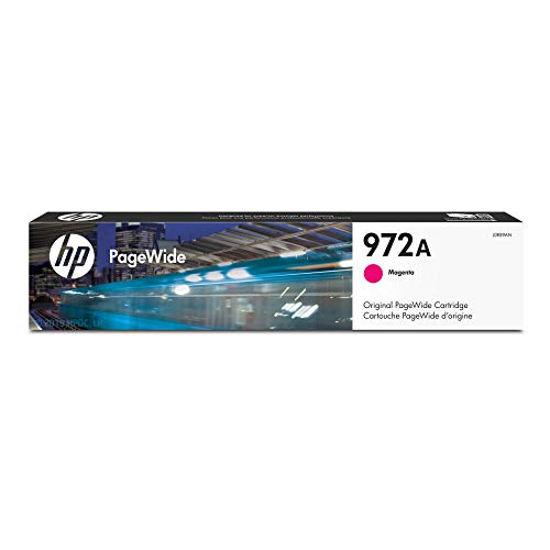 (HP 972A Magenta PageWide Ink Cartridge (L0R89AN) for HP PageWide Pro 452dn 452dw 477dn 477dw 552dw 577dw 577z)