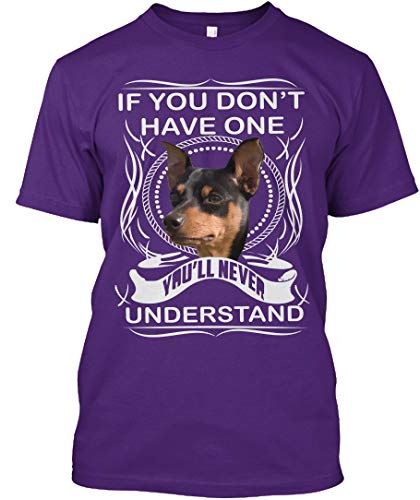 If You Dont Have one youll Never. L - Purple Tshirt - Hanes Tagless Tee ()