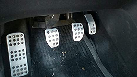 DS 3 4 6 DS3 DS4 DS6 WLMYJ Modifizierte Pedalauflage f/ür Kfz-Auspuffanlagen./F/ür Peugeot 207 301 307 208 2008 308 408 CCM//Citroen C3 C4