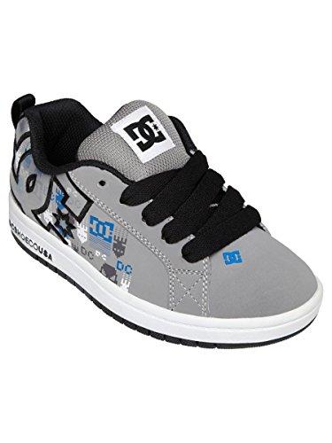 DC Court Graffik S Sneaker (Little Kid),Battleship/Blue Atoll,10.5 M US Little Kid
