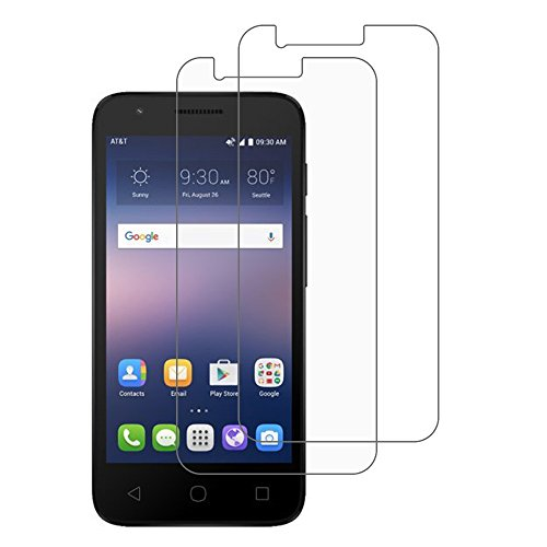 [Pack of 2] Alcatel Ideal Screen Protector, Gzerma Ultra Clear, Scratch Proof, Bubble Free and Easy to Install Front Protective Cover Film for Alcatel Ideal 4060A