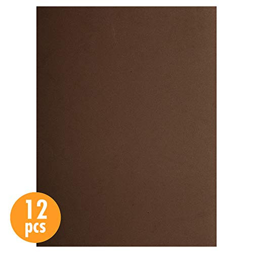 CTG, EVA sheet, 9 x 12 inches, Brown, 12 Pieces ()