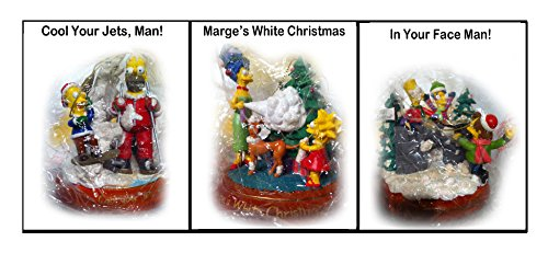 (The Simpsons Illuminated Christmas Ornament Collection - Ninth)
