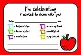 Teacher Positive Postcards - Good News Thank You Note from Teacher Motivational for Preschool Kindergarten or Elementary School Teachers – 50 cards