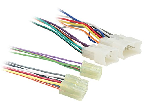 Metra BT1761 Toyota 1987-2005 to Bluetooth Turbo wire Harness-1 Each