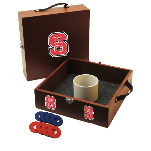 NCAA College North Carolina State Wolfpack Washer Toss Game (State Wolfpack Desk)