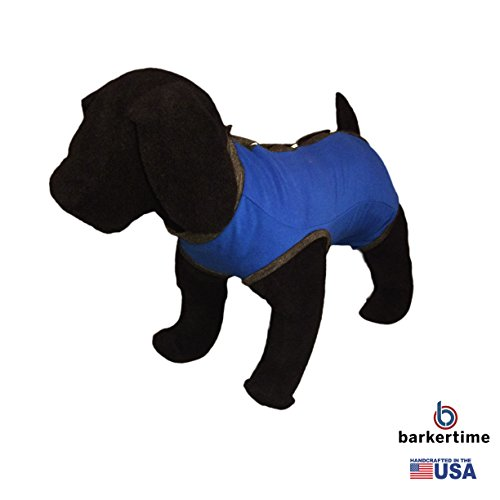 Royal Blue PeeJama E-Collar Alternative Recovery Suit, L ...