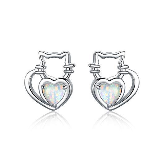 Cat Opal Earrings - 3
