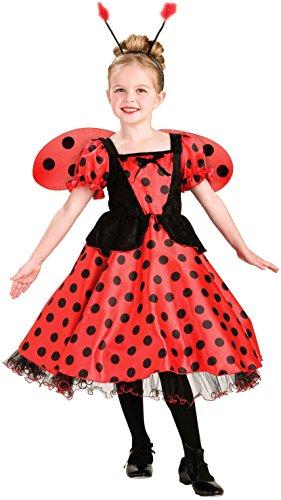 [Forum Novelties Lady Bug Princess Costume, Child's Large] (Baby Ladybug Halloween Costumes)