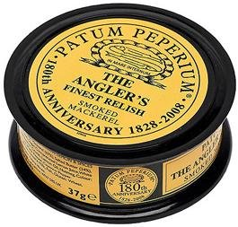 "Patum Peperium ""The Angler's Relish"" Smoked Mackerel 37g. Best Before June 2013"