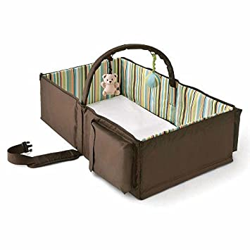 Amazon.: Eddie Bauer Infant Travel Bed : Infant And Toddler