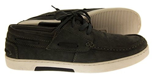 Footwear Studio - Náuticos para hombre gris - Dark Grey