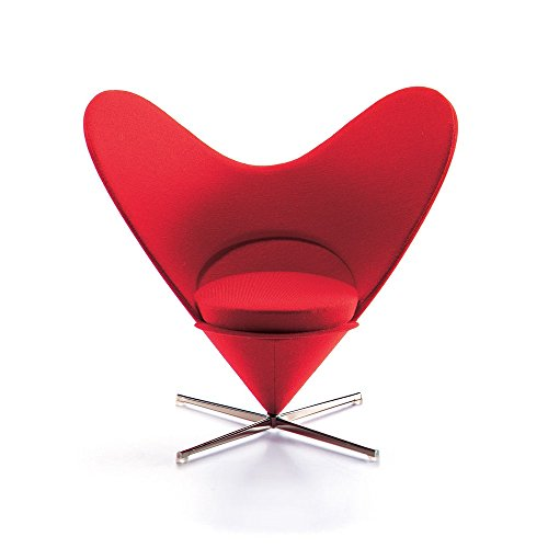 Vitra Miniature Heart Shaped Cone Chair, Decorative Object ()