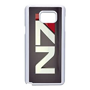 Unique Design Cases Samsung Galaxy Note 5 Cell Phone Case White Mass Effect Suize Printed Cover Protector