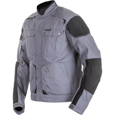 Motorfist Ranger Foul Weather Jacket - XX-LARGE - Grey/Black