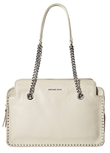 Michael Kors Astor Large Satchel Bag in Cement (Michael Michael Kors Astor Large Satchel)