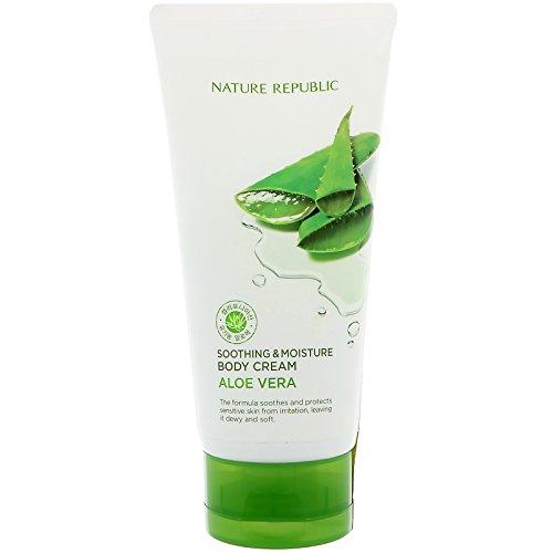 NATURE REPUBLIC Soothing and Moisture Aloe Vera Body Cream