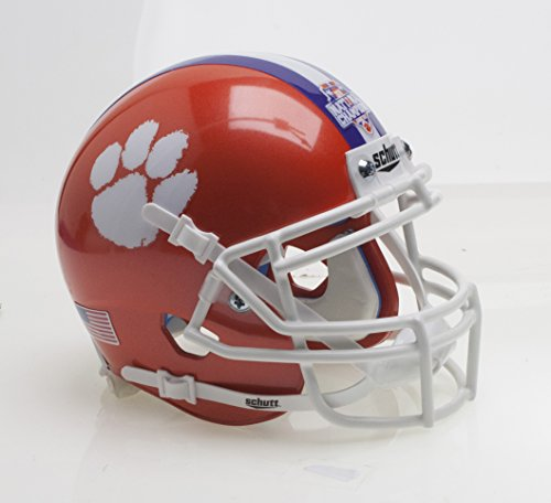 Clemson Tigers Special 2017 FBS NCAA National Champions Schutt Authentic Mini Helmet
