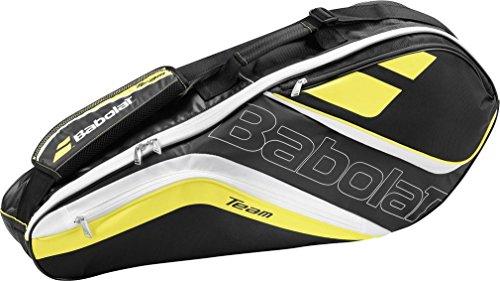 Babolat Schlägertasche Racket Holder X3 Team Line Yellow, gelb, 76 x 18.5 x 32 cm, 45 Liter, 751122-113