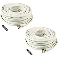 (2) 200 Foot Security Camera Cable for Samsung SDH-C5100, SDH-B3040