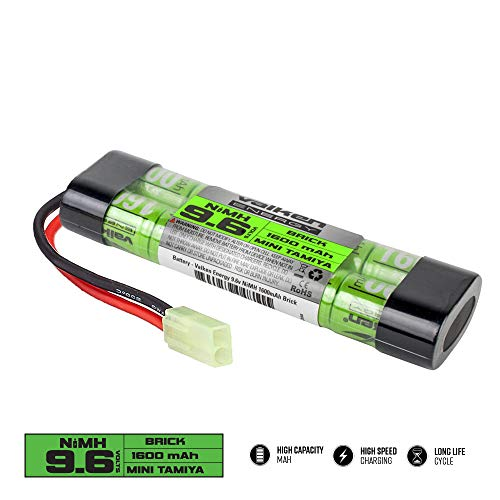 Batería Valken Airsoft - NiMH 9.6v 1600mAh Mini Brick Style