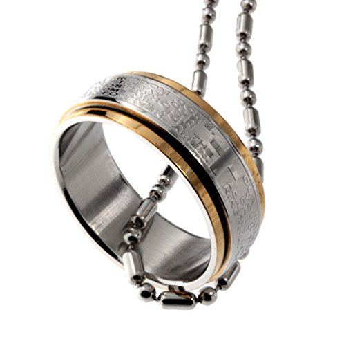 R H Jewelry Stainless Pendant Rotating product image