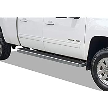 Tyger Auto TG-RS5C50037 Riser 5inch Stainless Steel Side Step Rails Nerf Bars Running Boards Compatible with 2007-2018 Chevy Silverado//GMC Sierra 1500 /& 2007-2019 2500//3500HD Extended//Double Cab