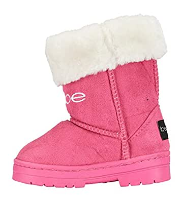 Amazon.com | Toddler Girls Microsuede Winter Boots Size 8