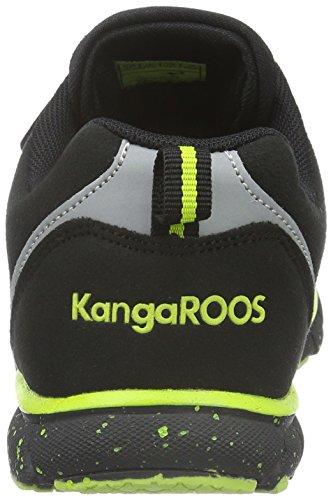 Nara Zapatilla 580 S lime black Unisex Kangaroos Noir Baja Niños FHAAw