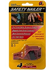 Safety Nailer Mini- For Finish Nails, Small Screws, and Staples