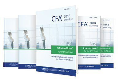 2018 CFA Level 1 Study package (5 books) + 1 practice book