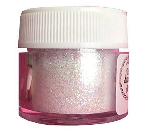 (SUPER WHITE Disco Cake 5 grams each container Use to cakes, cupcakes, fondant, decorating, cake pops By Oh! Sweet Art)