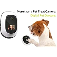 PetChatz HD and PawCall: Digital Daycare with two-way premium audio/HD video pet treat…