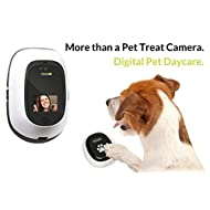 PetChatz HD PawCall: Digital Daycare two-way premium audio/HD video pet treat camera w/DOGTV, sound/motion triggered video recording, calming aromatherapy (as seen on The Today Show)
